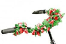 【18237】自行车饰品花 多色实用漂亮仿真花藤