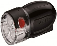 【HL-43】AKSLEN 自行车前灯 电筒 3LED灯 山地车前灯HL-43 警示灯 安全实用自行车灯 都市系列