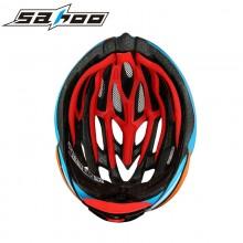 限时促销原价99元【911305】SAHOO鲨虎 骑行装备自行车安全防护酷感一体成型头盔-幻 买一盔送二壳 换壳盔