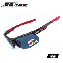 【G6434】SAHOO 鲨虎运动骑行偏光眼镜 防风沙自行车户外眼镜 可换镜片