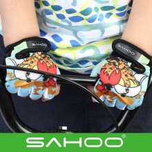【41646】SAHOO鲨虎 儿童手套 短指手套 耐磨减震可爱自行车骑行手套