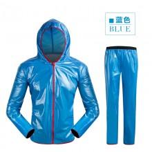 【MJ-KZ】自行车骑行雨衣裤子 骑行雨衣上衣 山地自行车骑行服雨衣套装