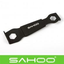【23829】 SAHOO鲨虎 (大齒盤工具)大齿盘工具台湾原产 自行车修补工具  齿盘/牙盘螺丝/盘钉安装扳手