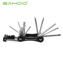 【22165】SAHOO鲨虎 修车11合1多功能组合工具(带拆链器)