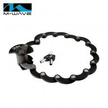 【M230199】德国M-WAVE自行车锁 汉堡锁