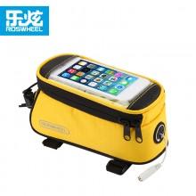 【12496】ROSWHEEL乐炫手机上管包 爆款 第五代上市 自行车触屏手机包