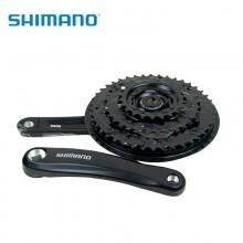 【EFCM311】SHIMANO禧玛诺盒装行货FC-M311自行车前链轮 7/8速牙盘