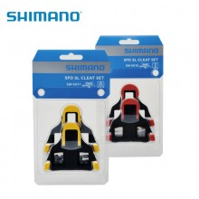 【Y42U98010】SHIMANO禧玛诺盒装行货SPD-SL公路锁片组 含锁片螺母