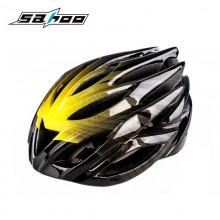 【91661】SAHOO鲨虎 骑行装备自行车安全防护酷感一体成型头盔23孔 骑行装备 (此款帽檐为黑色)