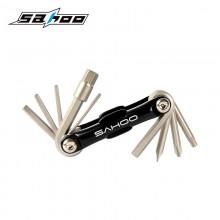 【B10014】SAHOO鲨虎 台湾原产 10合1多功能自行车折叠工具