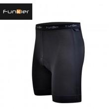 【FK-BS622】Funkier锋客 新款夏季 男款 纯黑骑行裤