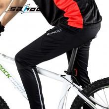 【46872/46873】骑行装备 秋冬季薄款透气排湿自行车情侣款骑行裤 防泼水速干 男女款促销