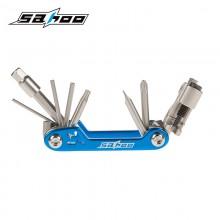 【B10015 】SAHOO鲨虎 台湾原产 17合1多功能自行车折叠工具