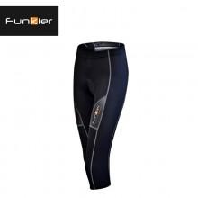 【FK-S123】Funkier锋客 新款夏季 女款 7版块7分骑行裤