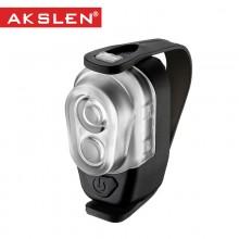【HL-160】AKSLEN 绑带式自行车前灯 山地车电筒 HL-160  安全警示灯系列