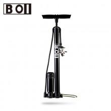 【321282】BOI自行车打气筒 落地式打气筒 山地自行车打气筒(带气压表)