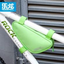 【12657】 ROSWHEEL乐炫 自行车三角包 织带式固定