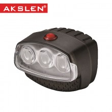 【HL-110】台湾AKSLEN 3LED自行车前灯 山地车前灯HL-110  警示灯 安全实用自行车灯 都市系列
