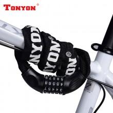 【DL1】TONYON通用 TY732 自行车锁  链条锁 五位密码锁
