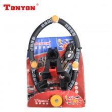 【DLYK2】TONYON通用 TY3869-200抗液压剪四节锁 自行车锁