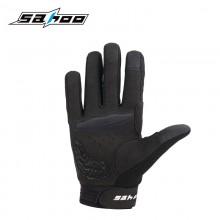【421321】SAHOO鲨虎 秋冬季 男女士防寒减震自行车 长指手套