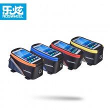 【D12496L】ROSWHEEL乐炫 手机上管包  自行车手机触屏包   彩色链条版 限量款!!!!