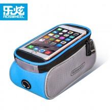 【D12496-X】ROSWHEEL乐炫  6.0寸大码手机上管包  自行车手机触屏包