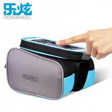 【D12813】ROSWHEEL乐炫  触屏手机包  自行车上管包  手机袋可取下 限量款!!!