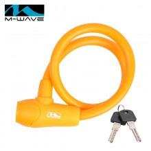 【M231040】德国M-wave硅胶圈形车锁12*600mm   硅胶锁