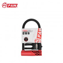 【WD870】PAW豹牌强力防盗u型锁 自行车电瓶车摩托车防盗锁 台湾品质