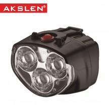 【HB-122】AKSLEN 自行车车灯3LED车灯 警示灯 安全实用自行车灯 前灯 郊外/乡间系列