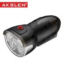 【HL-60】台湾AKSLEN 5LED自行车火杯前灯(HL-60工厂已停产,请知悉,谢谢!)