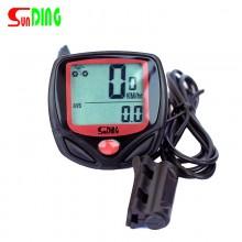 【SD-548B】Sunding顺东 SD548B码表中文防水有线自行车里程表码表
