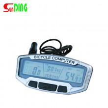 【SD-558】Sunding顺东中文SD-558A/558C自行车路码表里程表夜光里程表