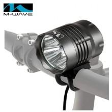 【M220764】德国M-Wave自行车灯可充电强光车前灯