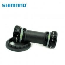 【ISMBBR60B】SHIMANO禧玛诺SM-BBR60,右&左锁紧帽(英制螺纹),轴承,内盖,等等,含TL-FC25,单独包装