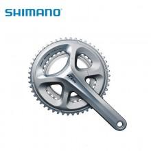 【IFC5800CX04L】SHIMANO禧玛诺前链轮, FC-5800 105 170MM 2代中空技术, 用于后 11速,  50X34T 不含中轴, 黑色, 单独包装