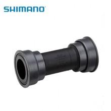 【ISMBB7141A】SHIMANO禧玛诺中轴零件,SM-BB71-41A压入式用于山地,右&左锁紧帽,轴承,内盖, 单独包装