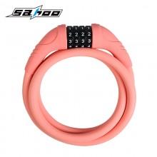 【841394】SAHOO 鲨虎  自行车锁  钢缆锁  硅胶锁 密码锁(新品)