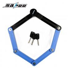 【841360】SAHOO鲨虎 SAHOO  鲨虎自行车锁 折叠锁 抗液压剪锁12级防盗锁 台湾品质(新品)