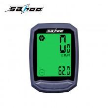 【811410】SAHOO 鲨虎 多功能自行车码表无线防水码表 中文码表新品