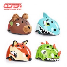 【S216002】CORSA/酷萨  酷萨自行车儿童头盔  儿童鲨鱼头盔 蔚蓝鲨 软壳头盔