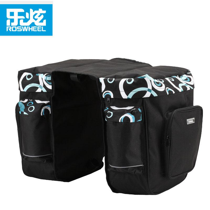 【14154】ROSWHEEL乐炫 时尚流行自行车双侧驮包 骑行后架包30L