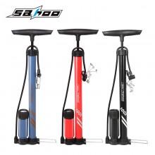 【321282-A】SAHOO鲨虎 自行车打气筒 落地式打气筒 山地自行车打气筒(带气压表)(新品)