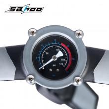 【321380】SAHOO 鲨虎 高压自行车打气筒 旋入式气嘴头 铝管 铁底座 加长手柄新品