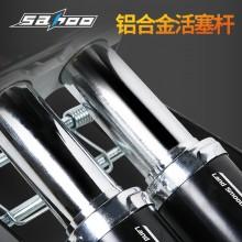 【311374】SAHOO鲨虎 球类 自行车 电动车 摩托车 汽车脚踩打气筒 双缸精准款