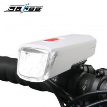 【71387】SAHOO鲨虎自行车灯车前灯USB充电山地车前灯夜骑灯(新品)