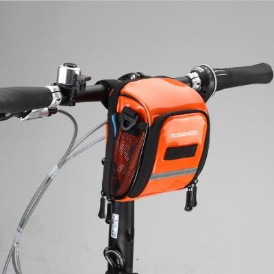 【11895】ROSWHEEL乐炫 糖果色自行车前车把包车首包车头包挂包小折折叠车车前包龙头包