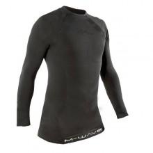 【M715640】德国M-Wave男款骑行内衣 长袖  尼龙材质 3D裁剪