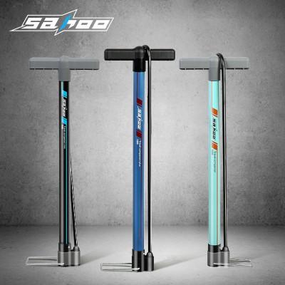 【311377】SAHOO鲨虎 自行车打气筒  中款立式打气筒 新品
